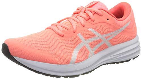 Asics Patriot 12, Zapatos para Correr Mujer, Rosa (Sun Coral/White), 41.5 EU