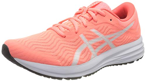 Asics Patriot 12, Road Running Shoe Mujer, Sun Coral/White, 40 EU