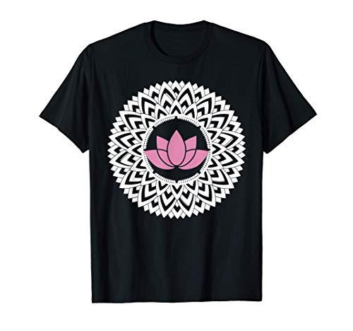 Lotus Mandala | Spiritual New Age Buddhist Yoga T-Shirt