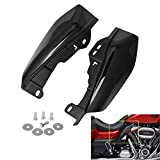 AQIMY Black Mid-Frame Air Deflector Heat Shield Trim Cover for Harley Davidson Touring Electra Street Glide Road Glide Trike 2017-2020