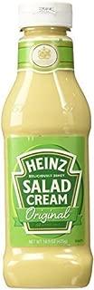 Heinz Salad Cream Squeezy , 425 Grams,(4 Pack)