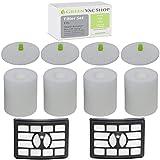 GreenVacShop 4+2 Pack Shark Rotator Professional Lift-Away NV500, NV501, NV502, NV503, NV505, NV510, NV520,...