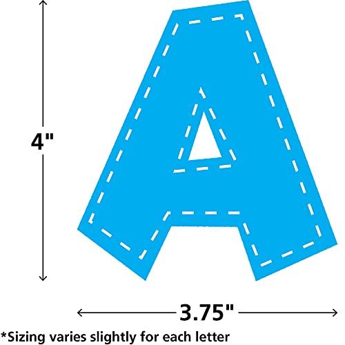 Teacher Created Resources Multi Bright Stitch Fun Font 4-Inch Letters (77177) Photo #2
