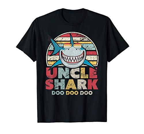 Uncle Shark Shirt, Gift For Uncles T-Shirt