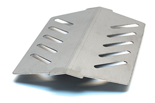 iComp Tôle Acier inoxydable Réflecteur similaire chaleur convient pour Weber/Genesis/Spirit