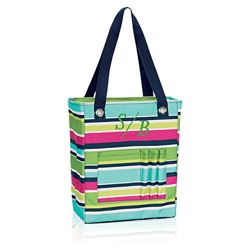 Thirty-One ~ Tall Organizing Tote - Preppy Pop