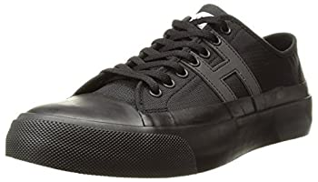 HUF Men s Hupper 2 LO Skate Shoe Black/Black 4 Regular US