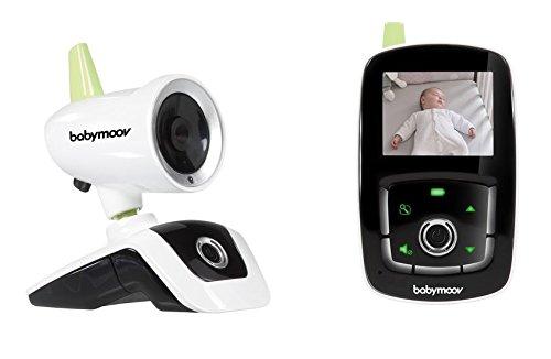 """Babymoov Camara Visio Care III, Vigilabebes con camara, visión nocturna y Walkie Talkie, pantalla de 2.4"""""""