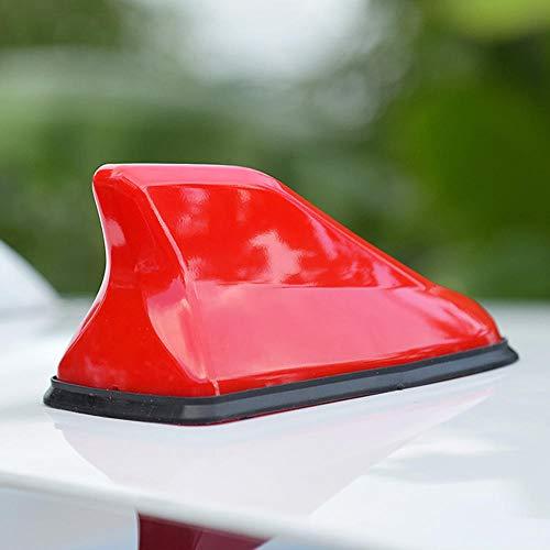 Antena de Aleta de tiburón Amplificador de señal FM, para Coche, Antena de Aleta de tiburón de Radio, para Fiat Cronos Egea 500X Toro Tipo Ducato Florino Punto Bravo-Red