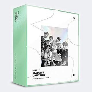 BTS 2020 SEASON'S GREETINGS Making DVD+Desk Calendar+Ring Diary+ID Photo Set+Mini Poster Set+Photo Lenticular+Greeting Mes...