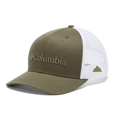 Columbia Gorra de Malla con Cierre a presión, Unisex, Color Verde Oliva,...