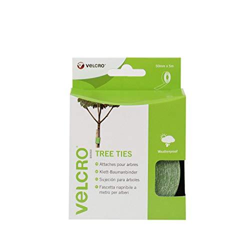 VELCRO - Tree Ties 50mm x 5 Meter grün - Klett-Baumbinder Haft und Flauschteil (BxL) 50mm x 5 Meter grün