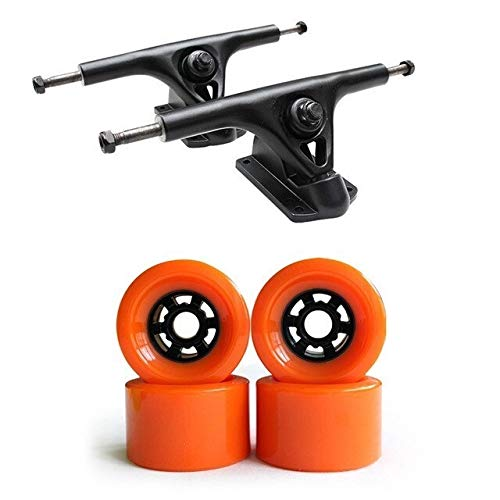 MQEIANG 83mm Soft-Skateboard Wheels mit LKW-Set 7.25