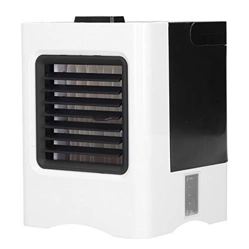 Enfriador de Aire evaporativo, acondicionador de Aire portátil Personal Carga USB con Aire Acondicionado para el hogar para la Oficina en la habitación