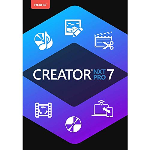 Roxio Creator NXT 7 Pro - Complete CD/DVD Burning and Creativity Suite for PC [PC Download]