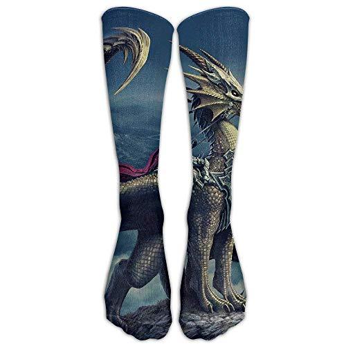 remmber me Fantasie-Fliegen-Drache-Strumpf-Rohr-Sport-athletische Socken