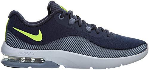 Nike Air MAX Advantage 2, Zapatillas para Hombre, Multicolor (Thunder Blue/Volt Glow/Ashen Slate 001), 40 EU