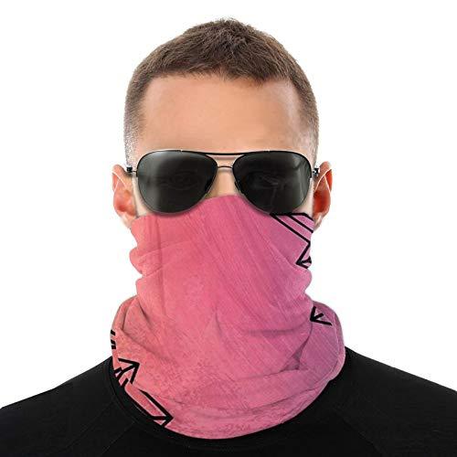 Sunscreen Half Face Mask Bandana Neck Warmers Gaiters for Cold Weather Riding Fishing, Moisture Wicking Magic Scarf Headband Mandala Watercolor Art Sportswear
