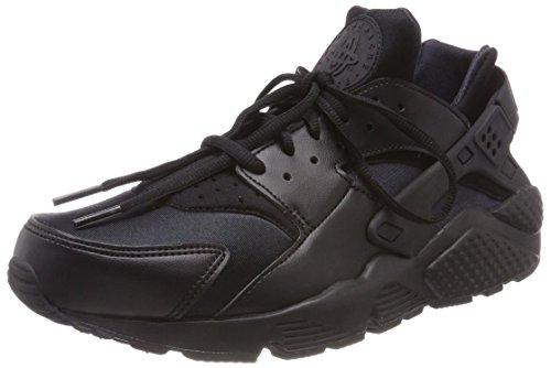 Nike Wmns Air Huarache Run, Women's Sneakers, Black (Black/Black 012), 4 UK