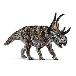 9. Schleich Dinosaurs Diabloceratops Educational Figurine