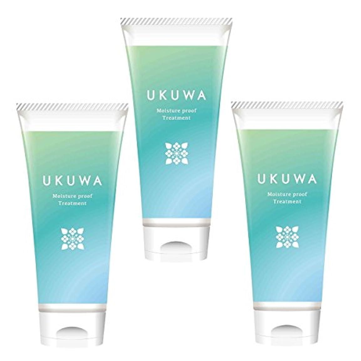 精査する同じキルトディアテック UKUWA(ウクワ)(雨花)モイスチャー プルーフ トリートメント 100g×3本セット