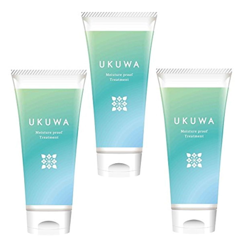 通知する保守的寂しいディアテック UKUWA(ウクワ)(雨花)モイスチャー プルーフ トリートメント 100g×3本セット