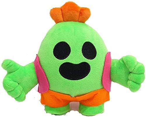 siyat Plüschspielzeug Nette Kawaii 20 cm Anime Kämpfe Nagel Spike Plüsch Modell Puppe Plüsch Plüschtier Kaktus Kinder Weiches Plüschtier Kinder Grün Jikasifa