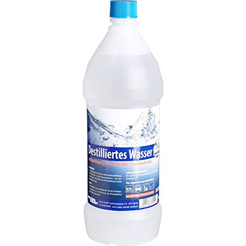 Chemie Wocklum Zubehör Motorradbatterie Destilliertes Wasser 1000 ml, Unisex, Multipurpose, Ganzjährig, klar