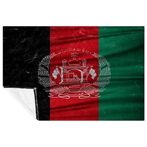 CHINFY Manta extra suave con bandera iraní, Tayikistán, Afganistán, manta de viaje de poliéster, manta grande para cama, sofá, silla, dormitorio