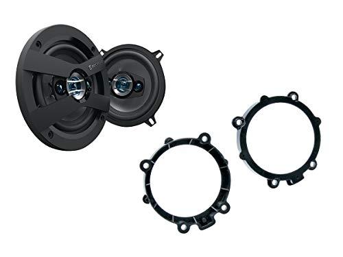 NIQ Mercedes Vito (W639) Lautsprecher Einbauset (Türe Front) inkl. Scosche HD5254 130mm 3 Wege Triaxial Lautsprecher 200Watt