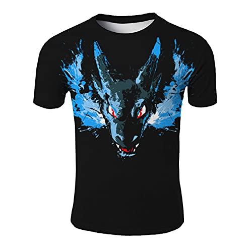 SSBZYES Camisetas para Hombre Camisetas De Gran Tamaño Camisetas Estampadas con Cuello Redondo Conjuntos De Verano Camisetas Sueltas para Hombre Camisetas para Parejas Tops Camisetas De Moda