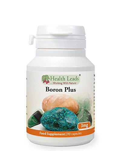 Boron Plus 3mg x 90 Capsules (No Magnesium Stearate)