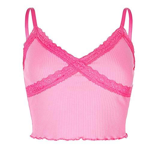 Blusas 2020 lindo Croc recortado Bustier ropa para accesorios moda Y2K corsé sexy Tank Crop Top Tops mujer púrpura