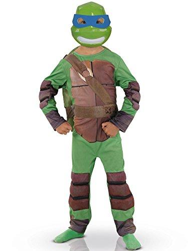 Rubies–Decorazione–Costume di alta qualità da Tartaruga Ninja con maschera e passamontagna