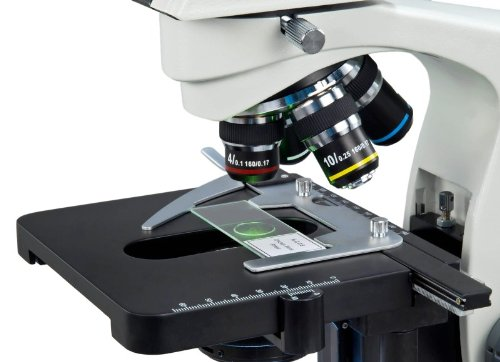 OMAX 40X-2000X LED Trinocular Compound Microscope with Reversed Nosepiece and 30 Degree Siedentopf Viewing Head and 5.0MP USB Camera