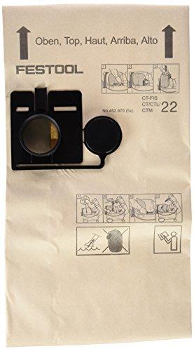 Festool 452970 Filtersack für CT/CTL/CTM 22