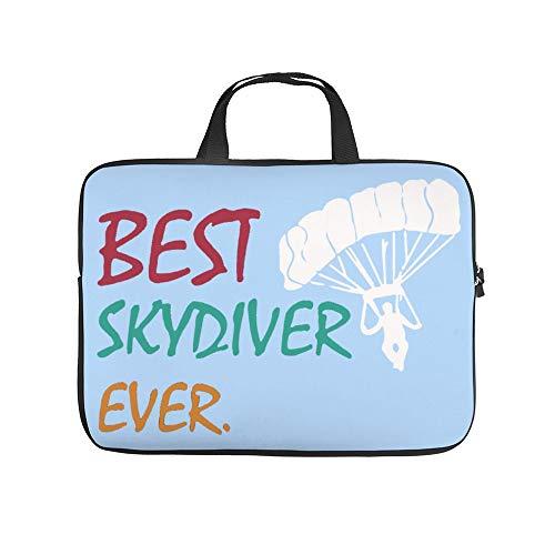 Best Sky Diver Skydiving Laptop Carrying Bag Neoprene Waterproof and Anti-Static Office Handbag 13 inch