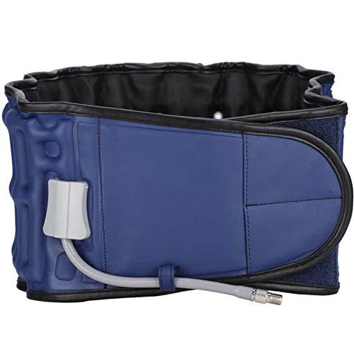 Equipo de recuperación corporal Masajeador de cintura Masajeador de soporte Cinturón Lumbar Brace Inflable Unisex Hombres Mujeres Alivio Dolor Bajo Transporte Dispositivo de Tracción Postura Correcció