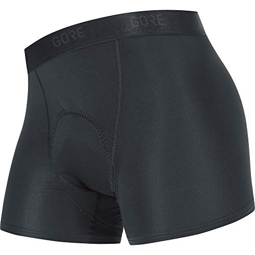 GORE WEAR C3 Ladies Cycling Shorts with Seat Insert, XS, Black
