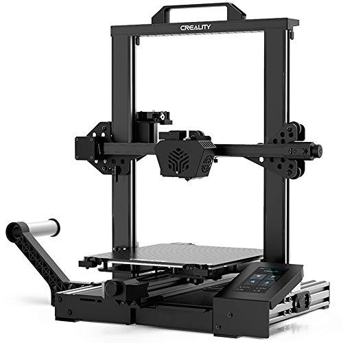 3D-Drucker Creality CR-6 SE, verbessertes Design mit lautlosem Motherboard, neuer Düsen- und Extruderstruktur, Lebenslaufdruck und HD-Farb-Touchscreen
