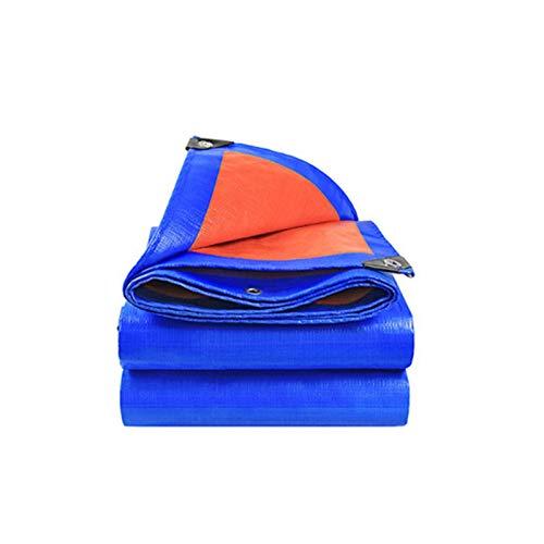 YBDXMM Lona De ProteccióN Lona Impermeable Lona con Ojales, Lona De PE para PéRgola Al Aire Libre, Terraza, Planta, Piscina, Camping, FáCil De Colocar,3x3m/9.8X9.8ft