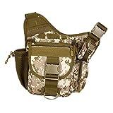 Vidisa Messenger Bag Military Shoulder Molle Backpack EDC Sling Pack for Outdoor