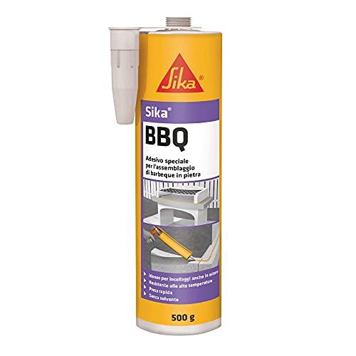 Sika BBQ-lijm voor de montage van geprefabriceerde barbecues en tuinmeubelen, gebruiksklaar, hecht op de meeste ondergronden, 500 g