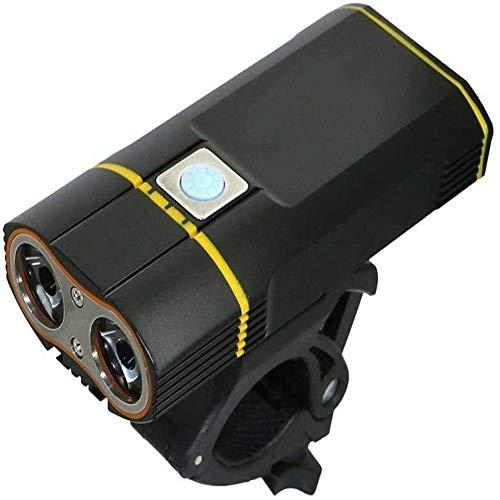 Fietsverlichting fietslicht LED fietslicht met USB oplaadbare batterij cyclus koplamp + handvat installatie dljyy