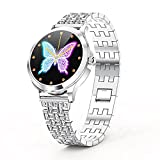 LW07 Smart Watch Lady DIY Quadrante Colore Schermo TFT Salute Monitoring Smart Watch Lady per Android IOS B