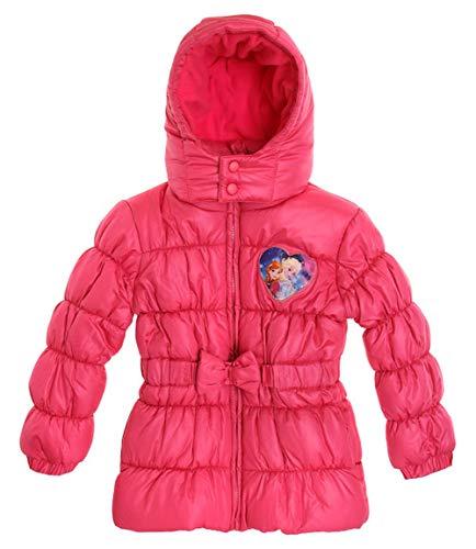 Disney Eiskönigin ELSA & Anna Winterjacke Jacke Steppjacke pink (128)