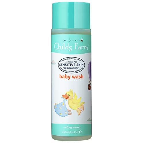 Childs Farm | Baby Body Wash | Unfragranced | Sensitive Skin | Suitable for Newborns | 250ml