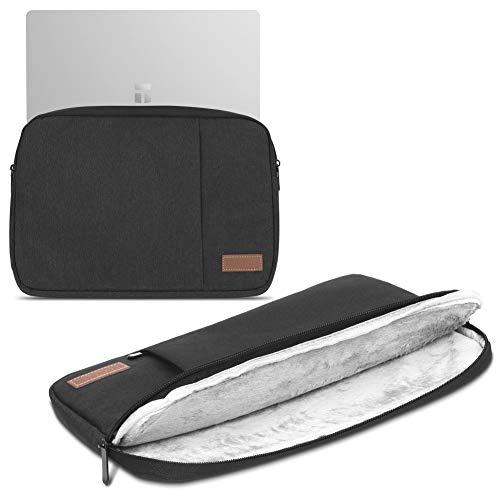 Sleeve Tasche kompatibel für Trekstor Primetab T13B Hülle Schutzhülle Cover Notebook Hülle, Farbe:Schwarz