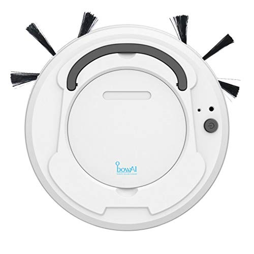 BowAi by Retail Blade - Affordable Robot Vacuum for Hard Floors. Super Slim and Rechargeable. This Robotic Sweeping Cleaning Robot Will Suck up What Your Broom Misses.