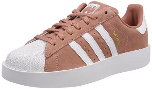 adidas Superstar Bold, Scarpe da Ginnastica Basse Donna, Rosa (Rosa/Weiß/Gold Rosa/Weiß/Gold), 41 1/3 EU